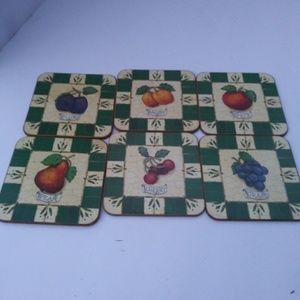 vintage coasters from England JD